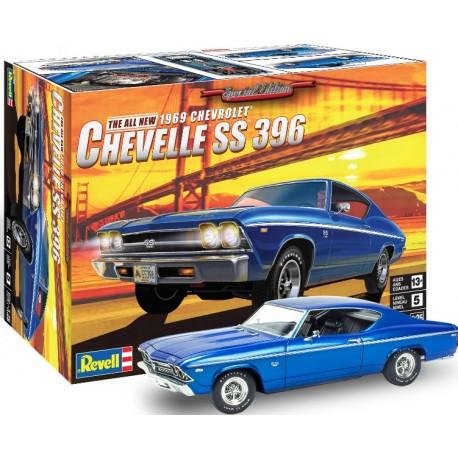 Revell: 1969 Chevelle SS in 1:25