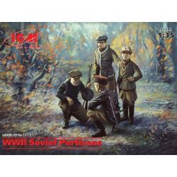 ICM 1/35 WWII Soviet Partisans (4 figures)