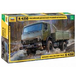 Zvezda 1/35 Russian 2 Axle Military Truck K-4326