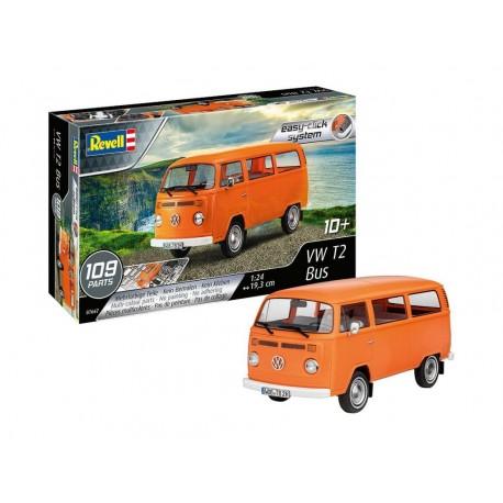 Revell: VW T2 Bus easy-click in 1:24