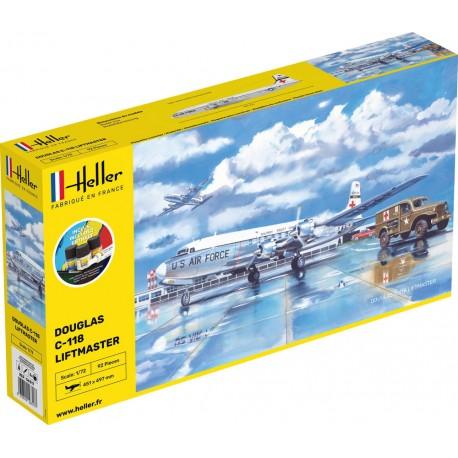 Heller: STARTER KIT C-118 LIFTMASTER in 1:72