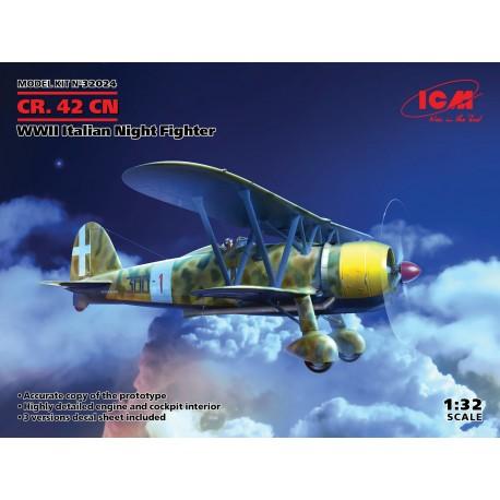ICM: CR. 42CN, WWII Italian Night Fighter in 1:32