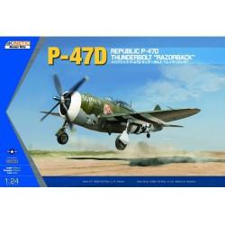 KINETIC: P-47D THUNDERBOLT RAZOR-RAF in 1:24
