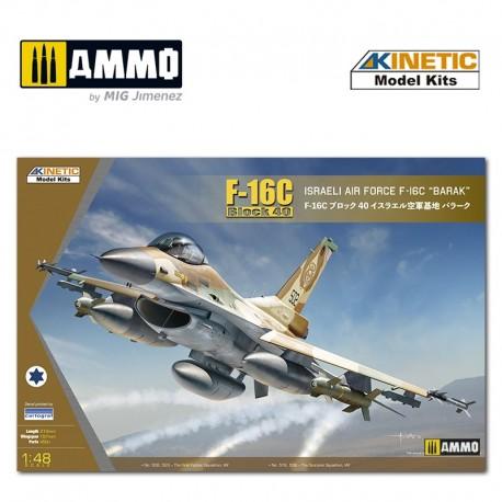 KINETIC: F-16C Block 40 IDF Baraka wit in 1:48