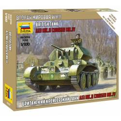 Zvezda 1/100 British Tank Crusader IV