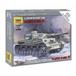 Zvezda 1/100 Panzer IV Ausf.H