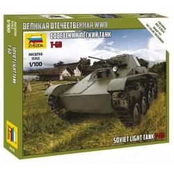Zvezda 1/100 T-60 Soviet Light Tank