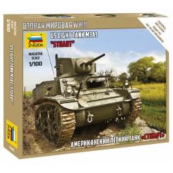 Zvezda 1/100 Stuart US-Tank