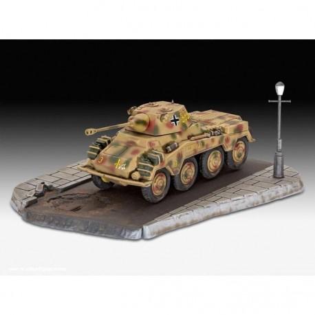 Revell: First Diorama Set - Sd.Kfz. 234/2 Puma in 1:76
