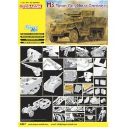 Dragon 1/35 M3 75MM GUN MOTOR CARRIAGE