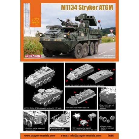 Dragon 1/72 M1134 Stryker ATGM