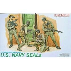 Dragon 1/35 US. NAVY SEALS INCLUDE 4 FIGURE
