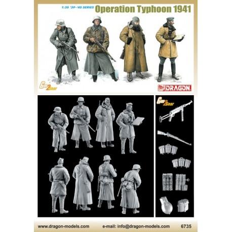 Dragon 1/35 OPERATION TYPHOON 1941 INCLUDE 4 FIGURE