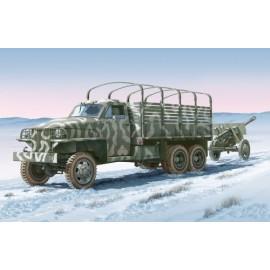 Italeri Land Lease U.S. Truck & ZIS-3 Gun