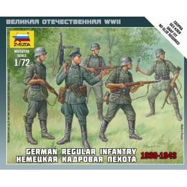 Zvezda 1/72 Ger.Regular Infantry 1939-43
