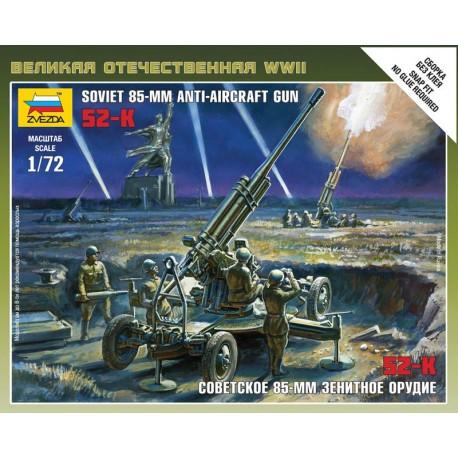 Zvezda Soviet 85mm Anti - Aircraft Gun