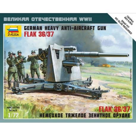 Zvezda German 88 cm Flak 36/37