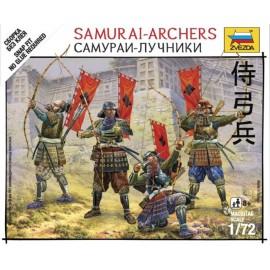 Zvezda 1/72 Samurai-Archers