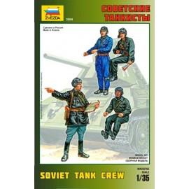 Zvezda 1/35 Soviet Tank Crew
