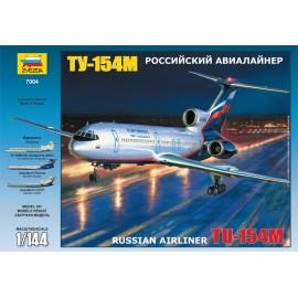 Zvezda 1/144 Tu-154m Russian Airliner