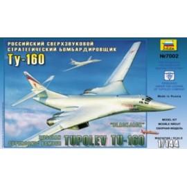 Zvezda 1/144 Tupolev Tu-160 Russian Supersonic Strategic Bomber