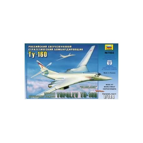 Zvezda Tupolev TU-160 Russian Supersonic Strategic Bomber