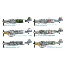 Italeri 1/48 Bf 109 G-6 Italian Aces