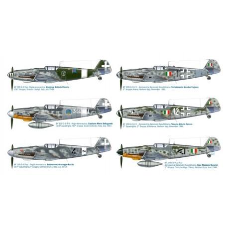 Italeri Bf 109 G-6 Italian Aces