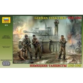 Zvezda 1/35 German Tank Crew WWII Late
