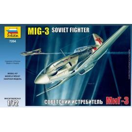 Zvezda 1/72 Mig-3 Soviet Fighter
