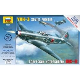 Zvezda 1/72 Yak-3 Soviet Fighter