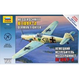 Zvezda 1/72 Messerschmitt Bf-109 F2