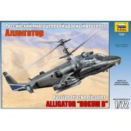Zvezda 1/72 Kamov Ka-52 Alligator Combat Helicopter