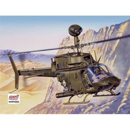 Italeri BELL OH-58D Kiowa
