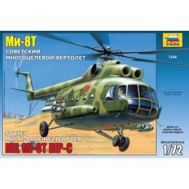 Zvezda 1/72 Mil Mi-8t Soviet Helicopter