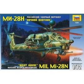 Zvezda 1/72 Mil Mi-28n Russian Helicopter