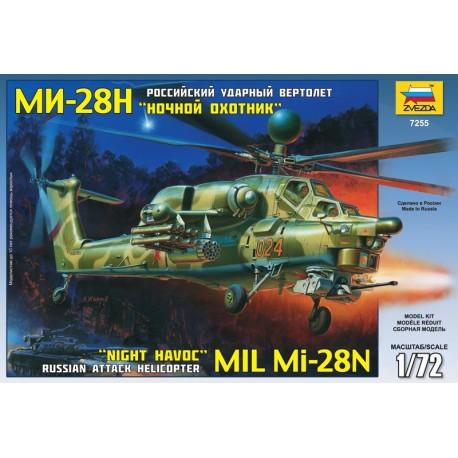 Zvezda MIL MI-28N Russian Helicopter