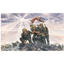 Italeri 1/72 Iwo Jima Flag Raisers