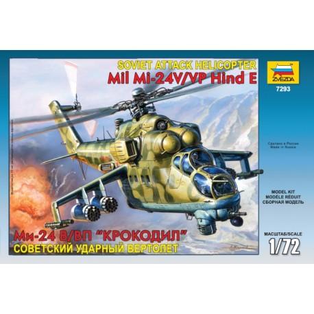 Zvezda MiL MI-24B Hind C