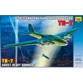 Zvezda 1/72 Soviet Bomber Tb-7