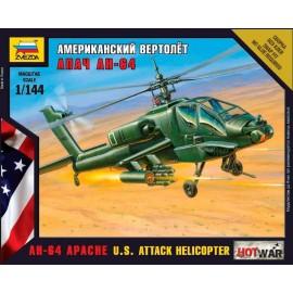 Zvezda 1/144 Apache Helicopter