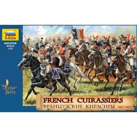 Zvezda French Cuirassiers 1812