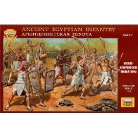 Zvezda Egyptian Infantry 2000 B.C. 1/72