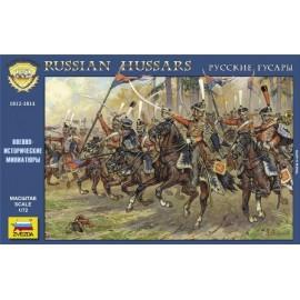 Zvezda 1/72 Russian Hussars 1812-1814
