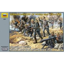 Zvezda 1/72 German Infantry WWI