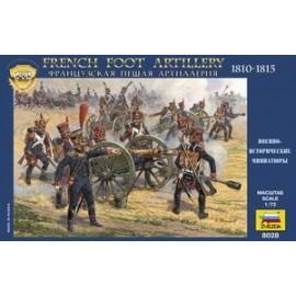 Zvezda 1/72 French Foot Artillery 1812-1814