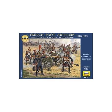 Zvezda French Foot Artillery 1812-1814