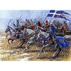 Zvezda French Knights 1/72