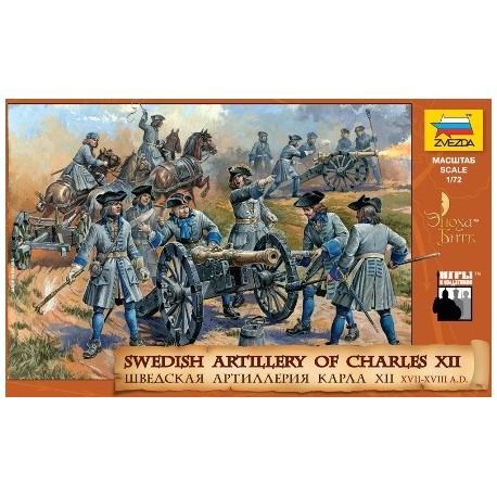 Zvezda Swedish Artillery Charles XII