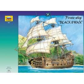 Zvezda 1/72 Pirate Ship Black Swan